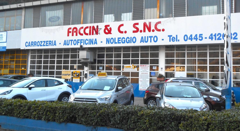 Carrozzeria officina auto Faccin Valdagno Vicenza