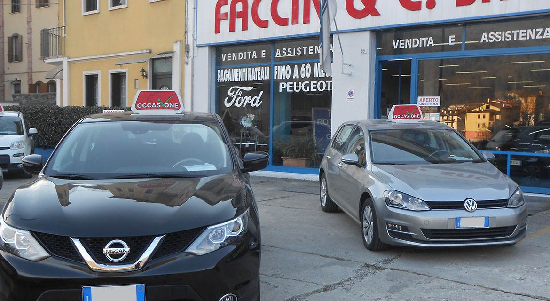 Salone AutoFaccin Valdagno Vicenza